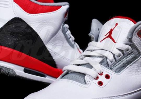 """Air Jordan III GS """"Fire Red"""""""