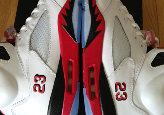 """Air Jordan V """"Fire Red"""" – Available Early on eBay"""