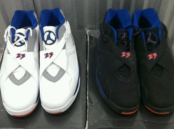 93dff727f8662a Air Jordan VIII Low - Jared Jeffries Knicks PE Set on eBay ...