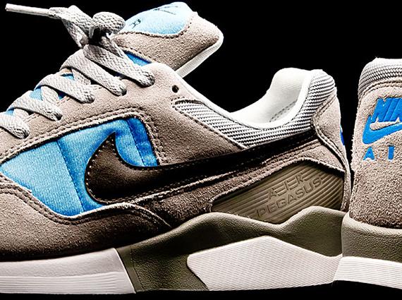 promo code 4f4fa 9dab6 Nike Air Pegasus  92 – Wolf Grey – Deep Smolder – Blue Hero