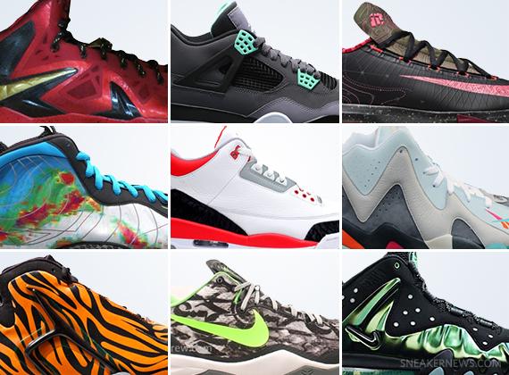 sneakers releasing in august 2013