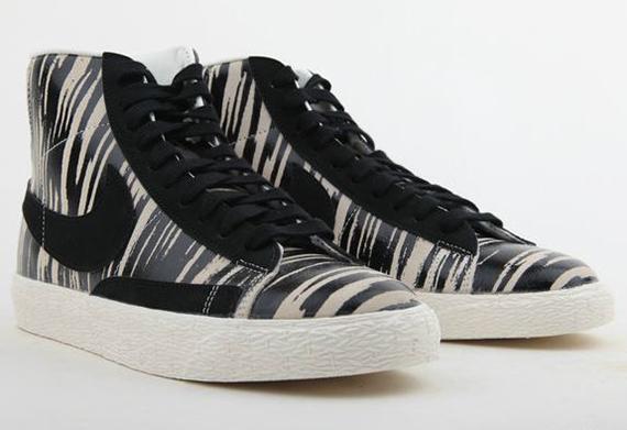 Nike Blazer Mi Zèbre