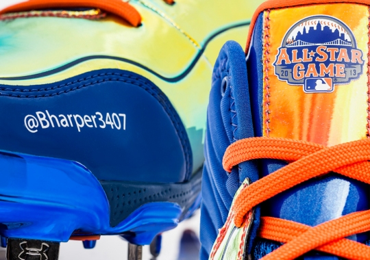 Under Armour Spine Highlight Cleats – Bryce Harper Home Run Derby PE