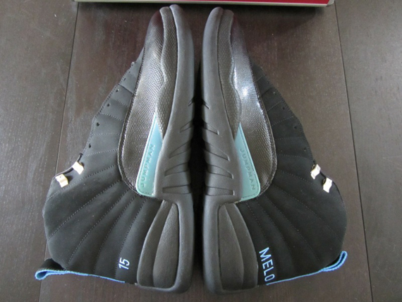 quality design 3f8e3 c60c1 ... retail during Anthony s first month in the NBA. Take a closer look at  this rare game issued but unworn Melo PE, then enter a bid with syr001 on  eBay.