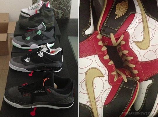 Bun B Shows Off Fall 2013 Air Jordans