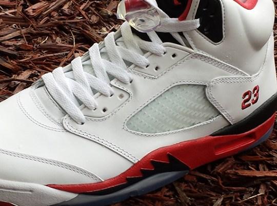 """Fire Red"" Air Jordan 5"