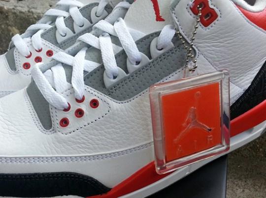 """Fire Red"" Air Jordan III"