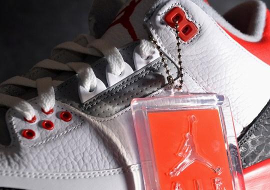 "Air Jordan III ""Fire Red"" – Arriving at Retailers"