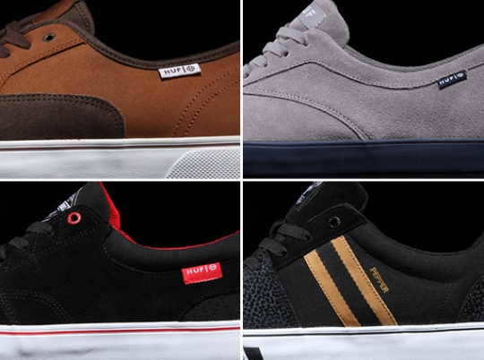 HUF Footwear – Fall 2013 Releases