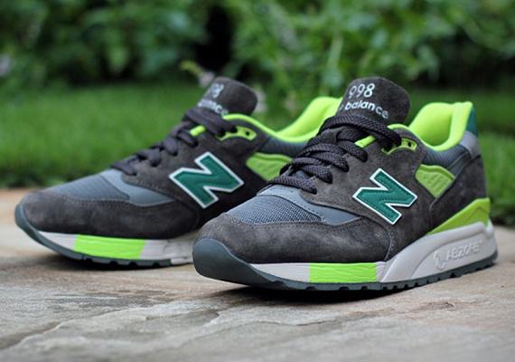 J.Crew x New Balance 998 - Grey - Green - SneakerNews.com f0f1909348be