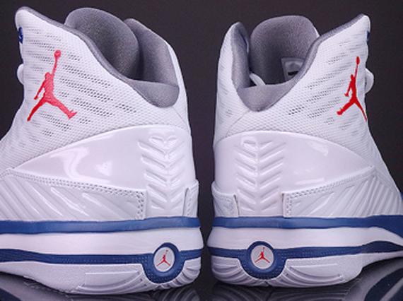e4465d87957ddb Jordan B Mo - White - Fire Red - True Blue - Cement Grey ...