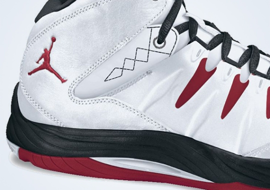 Jordan Prime.Fly – White – Red – Black