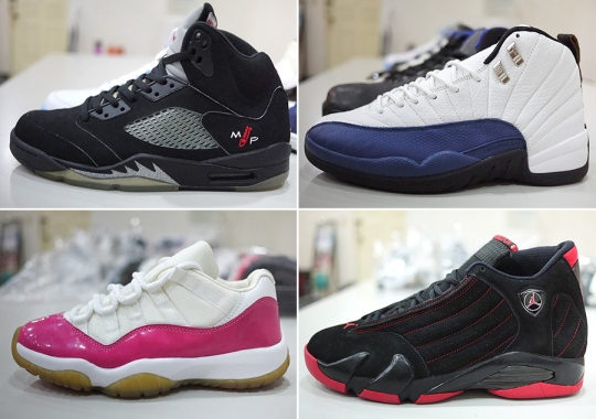 Rare Air Jordan PEs and Samples Collection