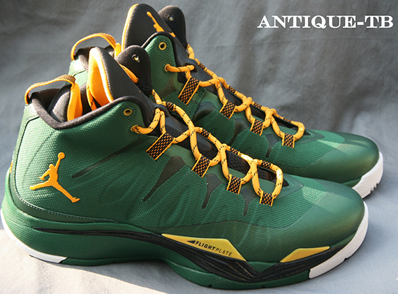 brand new b2691 2be2f Jordan Super.Fly 2 - Green - Yellow - SneakerNews.com