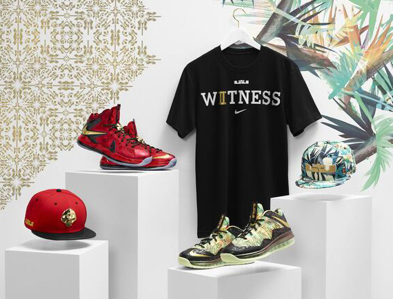LeBron X Championship Pack Release Date