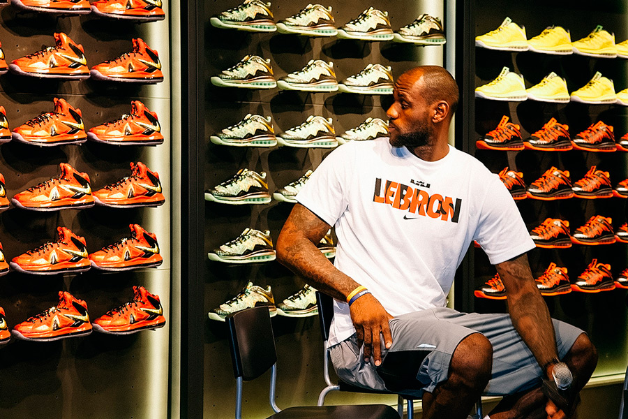 Lebron james clothing store