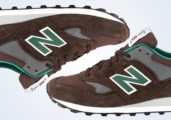 New Balance 577 Brown Green