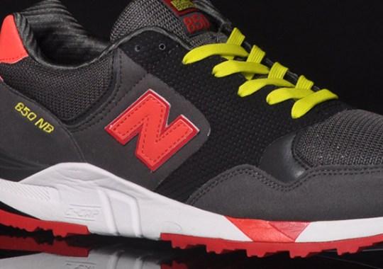 New Balance 850 – Black – Red – Yellow