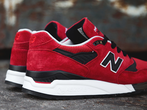 outlet store d0090 2f85f New Balance 998 - Red - Black - White - SneakerNews.com