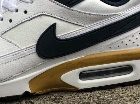 Nouvelles Arrivées ba206 867de Nike Air Classic BW - White - Navy - Gold - SneakerNews.com
