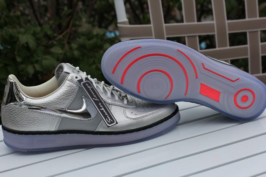 Nike Air Force 1 Downtown Quot Chrome Swoosh Quot Sneakernews Com