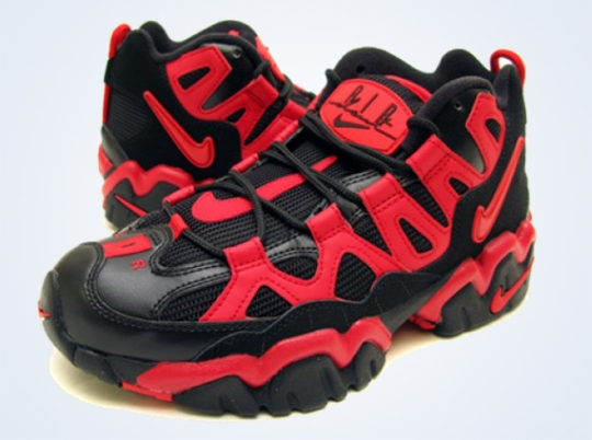 Nike Air Slant Mid – Black – Varsity Red