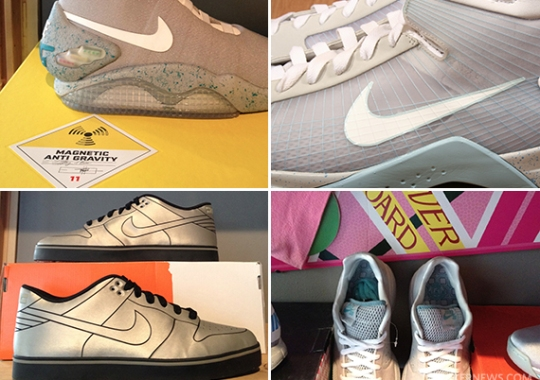 "Nike ""Back To The Future"" Auctions on eBay"