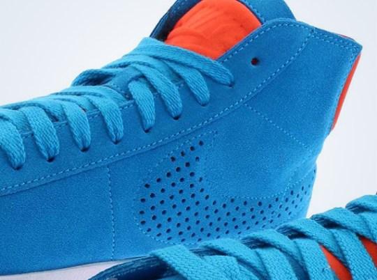 Nike Blazer Lux – Blue Hero – Team Orange