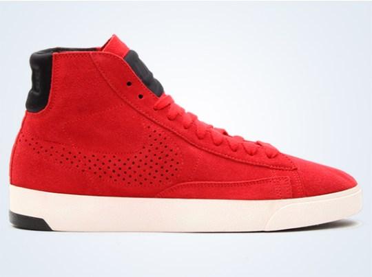Nike Blazer Lux – University Red – Black – Sail