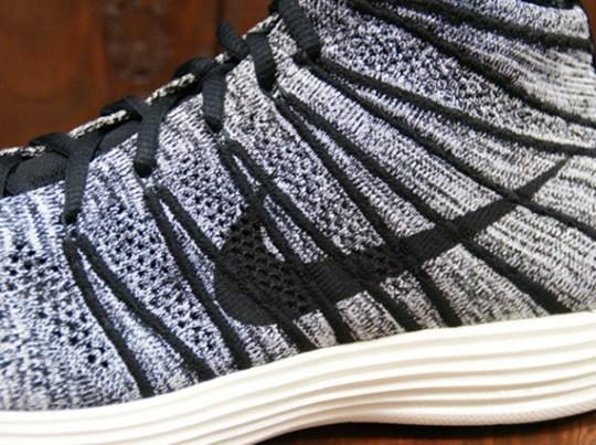 Nike Lunar Flyknit Chukka – Black – White – Sail