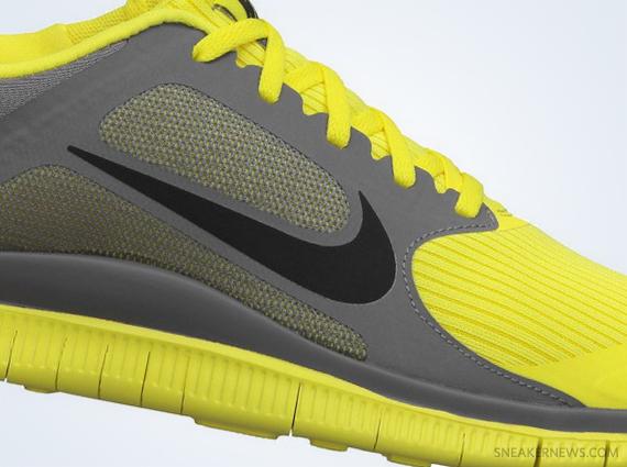 Nike Free 4.0 V3 Jaune
