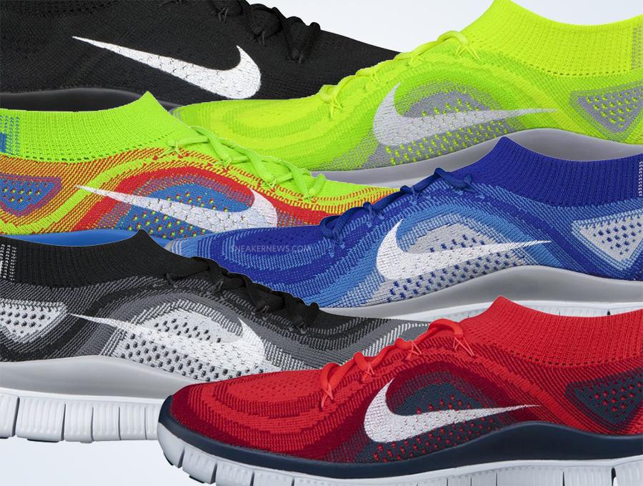 best website 3fe96 3bfd1 Nike Free Flyknit - August 2013 - SneakerNews.com