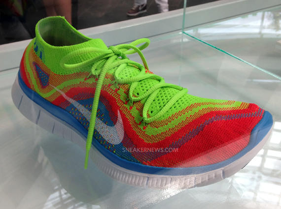 50% price new products where to buy Nike Free Flyknit - Red - Blue - Neon - SneakerNews.com