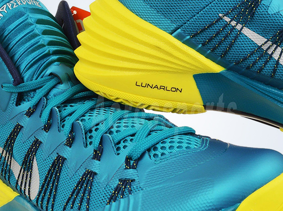 new style 76873 f198e Nike Hyperdunk 2013 – Tropical Teal – Sonic Yellow