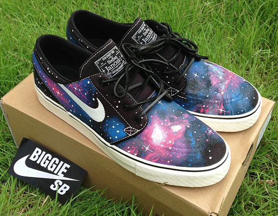 How To Make Galaxy Shoes On Nike Id