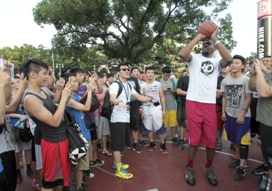 Kevin Durant and Nike Basketball Summer Nights Recap