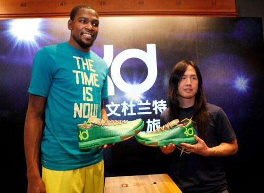 "Nike KD VI ""Bamboo"" Launch in Shanghai"