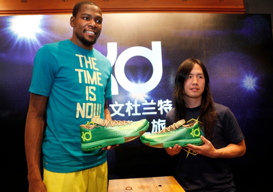 "Nike KD VI ""Bamboo"" Launch in Shanghai"