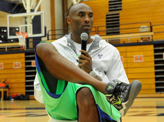 The Nike Kobe 8 continues to be the most scintillating story of the Summer  months as we now get a look at a sick mid-cut PE of the Nike Kobe 8 on ...