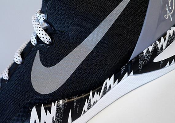 Nike Kobe 8 PP - Black - White