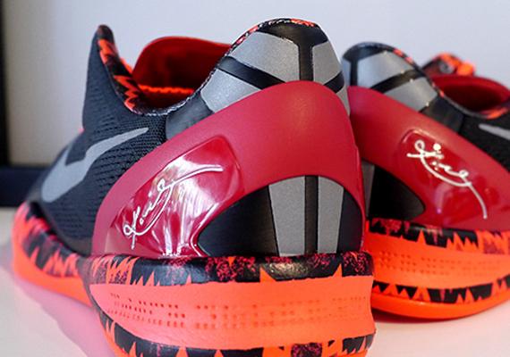 online store ee9a3 8deec Nike Kobe 8 PP – Red – Black