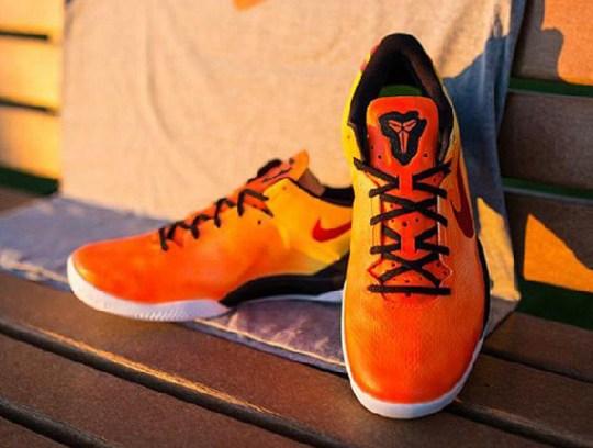 """Nike Kobe 8 """"Sunset"""" by JP Custom Kicks"""