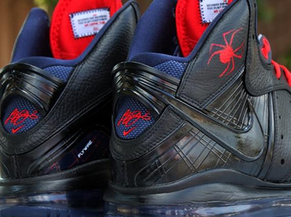 "1fe2b50a9be65 Nike LeBron 8 ""Black Widow"" by Dank Customs"