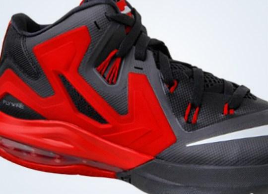 Nike LeBron Ambassador 6 – Black – Red
