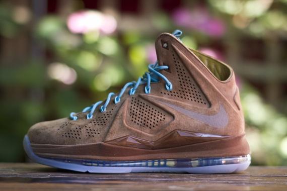 "best service 6d7f9 26c24 Nike LeBron X EXT ""Hazelnut"" – Release Reminder"