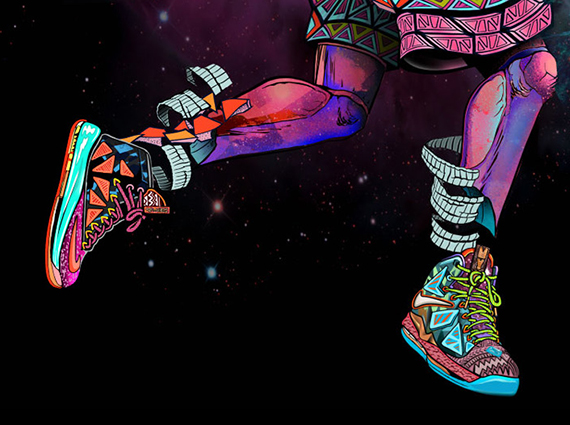 nike lebron x quotmvpquot artwork by ilovedust sneakernewscom