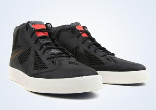 Nike LeBron X NSW Lifestyle – Navy – Tweed