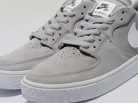 Nike Paul Rodriguez 7 VR - Silver/White - SneakerNews.com