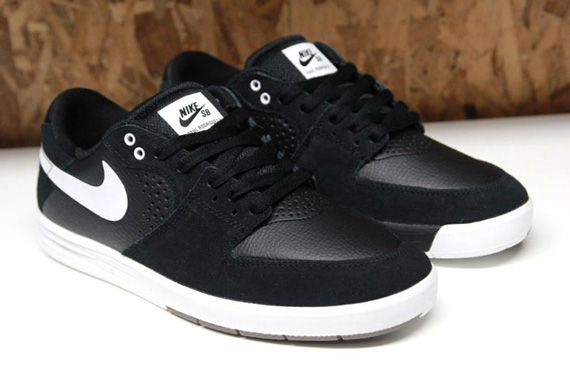 Nike SB Paul Rodriguez 7 - Black - White - SneakerNews.com