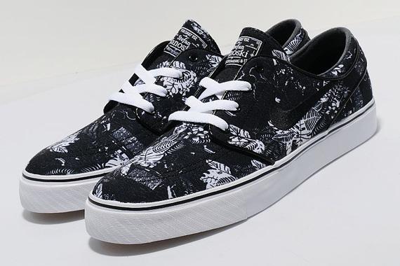 Floral Negro Janoski Nike Sb En Venta